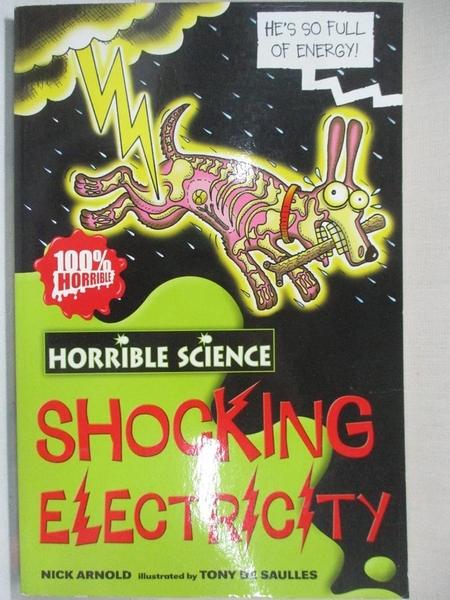 【書寶二手書T4/原文小說_GJI】Horrible Science Shocking Electricity_尼克阿諾德