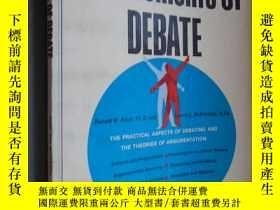 二手書博民逛書店The罕見elements of debate klopf and mccroskeyY12480 klopf