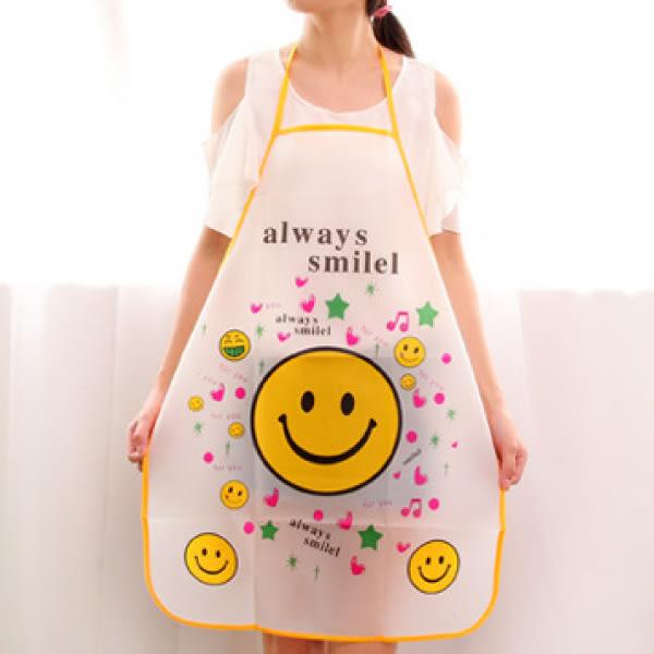 廚房用品 廚房卡通防水圍裙 防水 防油煙 【KFS147】123ok
