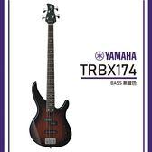 【非凡樂器】YAMAHA TRBX174/電貝斯套/公司貨保固/漸層色