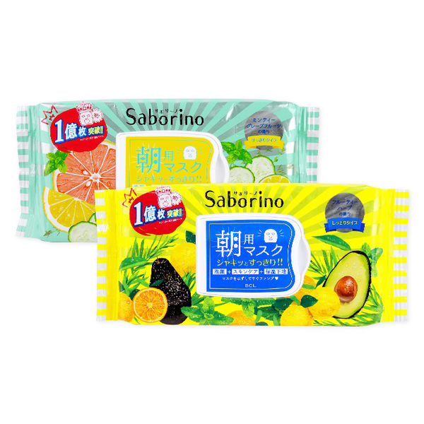 日本 BCL Saborino 早安面膜 32片