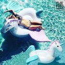方妮FaNi❤歐美原單實拍【夢幻飛馬游泳圈飄浮床】