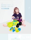 沙灘玩具-兒童沙灘玩具車套裝沙漏男孩寶寶大號挖沙鏟子桶玩沙子工具-奇幻樂園