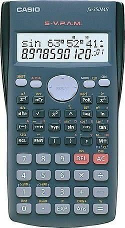 【宏崑時計】CASIO卡西歐工程用計算機 FX-350MS 可團購 台灣公司保固兩年 FX-350