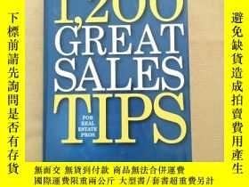 二手書博民逛書店1200罕見great sales tips for real estate pros(英文原版 精裝)Y11