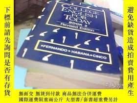 二手書博民逛書店COLLEGE罕見ENGLISH FOR TODAY BOOK2