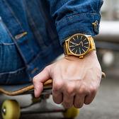 NIXON THE SENTRY 美式休閒潮流鋼帶錶/黑金 A356-510 熱賣中!