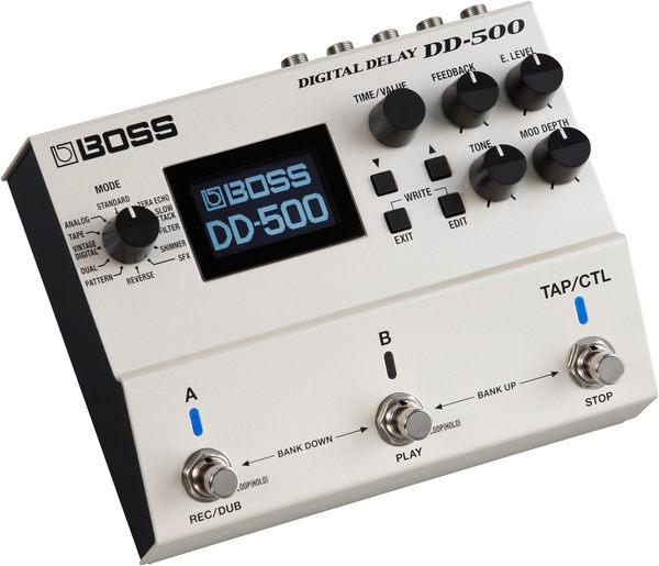 【金聲樂器】BOSS DD500 Delay 數位 延遲 DD 500 效果器