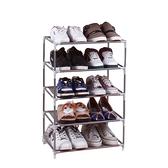 鞋櫃(5層)-簡易DIY多功能實用帆布鞋架2色73fu17[時尚巴黎]