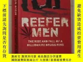 二手書博民逛書店英文原版罕見Reefer Men by Tony Thompso