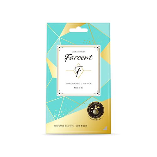Farcent香水衣物香氛袋3入粉藍甜蜜【寶雅】