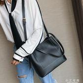托特包韓版軟皮大單肩包斜背包大氣手提包大容量 小艾時尚
