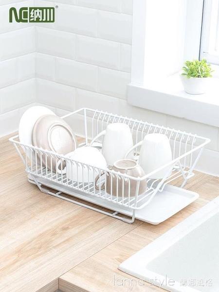 納川廚房碗筷餐具瀝水架水果蔬菜收納籃盤碗碟置物架子晾碗滴水架 新品全館85折 YTL