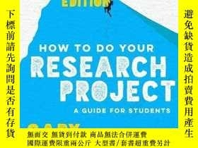 二手書博民逛書店How罕見To Do Your Research ProjectY256260 Gary Thomas Sag
