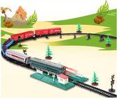 軌道車  兒童電動火車軌道 東風4B內燃機車仿真列車模型 益智拼搭玩具Igo  coco衣巷