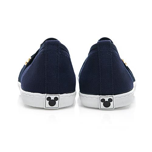 DISNEY 彈性交叉繃帶懶人鞋-藍