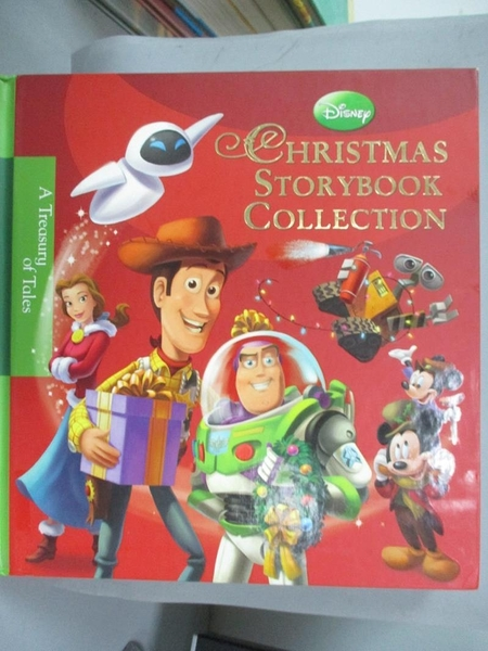 【書寶二手書T1/少年童書_YJZ】Disney Christmas Storybook Collection_Disney Enterprises, Inc.