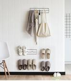 拖鞋架 2個裝浴室拖鞋架墻壁掛式免打孔門后鞋托掛架家用衛生間收納掛鉤 【快速出貨】
