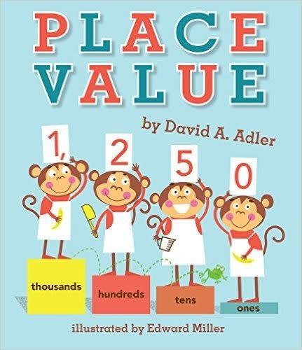 【麥克書店】PLACE VALUE/ 英文繪本《主題:STEM教學--科學 Science 》