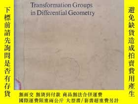 二手書博民逛書店transformation罕見groups in differential geometry(P466)Y1