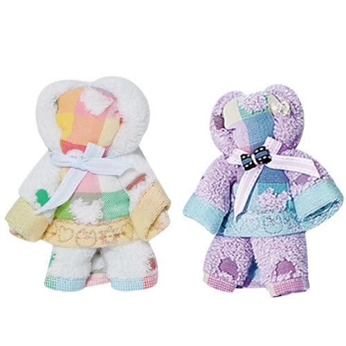 UCHINO [小熊造型手帕] 送禮 100%純棉 手帕 毛巾 小熊玩偶 情人節 全台限量