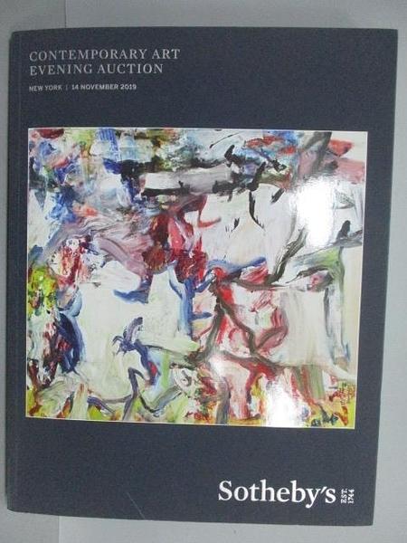 【書寶二手書T8/收藏_FE1】Sotheby s_Contemporary Art evening Auction_2