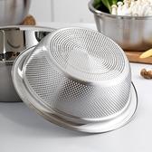 家用304食品級不銹鋼漏盆加厚洗米篩淘米盆瀝水籃