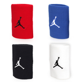 NIKE Jordan Jumpman單色腕帶 (飛人喬登 籃球 NBA 護腕 一雙入