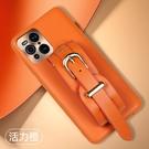 創意奢華oppo保護套 OPPO Find X3 PRO手機套 腕帶高檔皮質find x3pro手機殼 毆珀Find X3 Pro保護殼