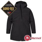 【Marmot】女 兩件式GT羽絨保暖連帽外套『黑』12430-0001 戶外 休閒 登山 露營 保暖 禦寒 防風