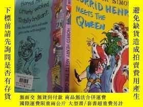 二手書博民逛書店horrid罕見henry meets the queen 可怕的亨利遇見了女王...Y200392