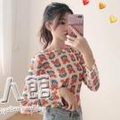 夏季2019新款學生純色收腰中長款短袖洋裝仙女超仙甜美A字裙潮 9號潮人館