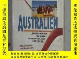 二手書博民逛書店德文原版罕見Reise-Know-How Australien