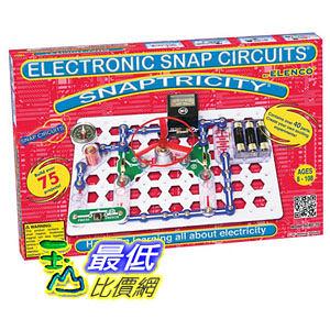 [2美國直購] Elenco Electronics 電子益智品 Snap SCBE-75 Circuits Snaptricity