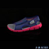【輕量運動涼鞋】NIKE 童運動涼鞋 NIKE SUNRAY ADJUST 4 (GS/PS)  藍紫色鞋面  【7507】