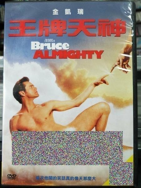 挖寶二手片-D30-正版DVD-電影【王牌天神】-金凱瑞 珍妮佛安妮斯頓(直購價)海報是影印