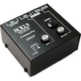 【音響世界】美國ROLLS DB227 Podcast-Pro DJ或網路直播麥克風/訊源混音器(Made in USA)