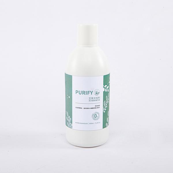 PURIFY艾草尤加利洗手慕絲補充瓶600ml-生活工場