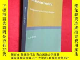 二手書博民逛書店Horace罕見on Poetry: Prolegomena t