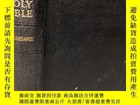 二手書博民逛書店THE罕見HOLY BIBLE CONTAINING THE OLD AND NEW TESTAMENTS 含彩色