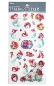 【卡漫城】小美人魚描圖紙貼紙㊣版手繪mermaid 愛麗兒Ariel 裝飾 心情筆記貼 貼