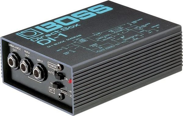 【金聲樂器廣場】全新 BOSS DI-1 DI1 Direct Box