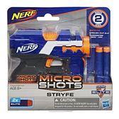 NERF樂活射擊遊戲 MICROSHOTS 超微掌心雷 ELITE菁英系列 STRYFE TOYeGO 玩具e哥