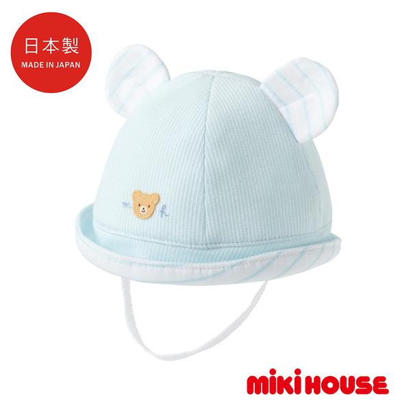 MIKI HOUSE BABY 日本製 夏季遮陽帽(藍)
