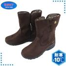 【ESKT 台灣 女 短筒雪鞋《咖啡》】SN235C/短筒靴/賞雪鞋/雪靴/小冰爪
