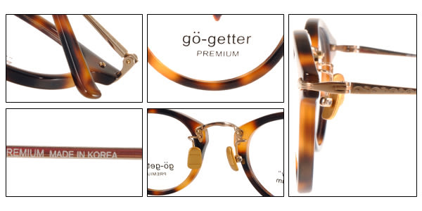 Go-Getter 光學眼鏡 GO5003 C03 (琥珀-金) 韓系時尚潮流款 # 金橘眼鏡