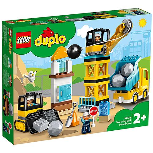 樂高積木 LEGO《 LT10932 》Duplo 得寶系列 - 施工現場組 / JOYBUS玩具百貨