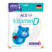 ACE SUPER KIDS 維他命D 14顆/袋 專品藥局【2014117】