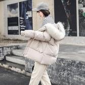 棉襖2019年新款韓版寬鬆棉衣羽絨棉服女中長款面包服冬季bf外套潮 嬌糖小屋