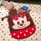 【發現。好貨】迪士尼米妮束口袋 立可拍相機包 收納包 化妝包